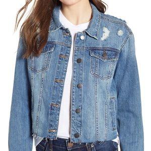 STS BLUE Boyfriend Crop Denim Jacket